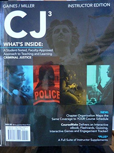 CJ 3 >INSTRS ED<: GAINES