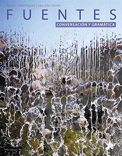 9781285733500: Student Activites Manual for Rusch's Fuentes: Conversacion y gramática, 5th Edition