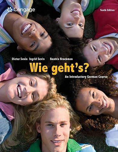 9781285733609: Wie geht's? (World Languages)