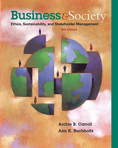9781285734293: Business and Society: Ethics, Sustainability, and Stakeholder Management