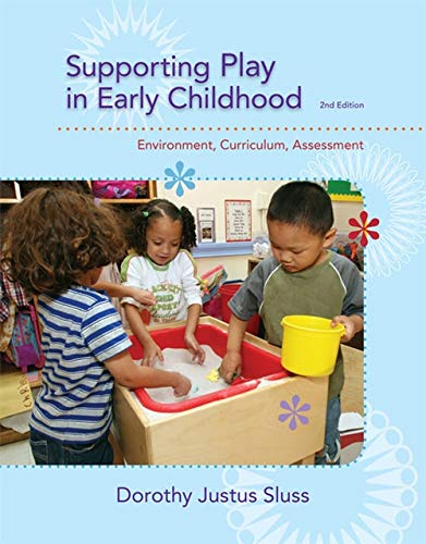 Supporting Play in Early Childhood: Environment, Curriculum,: Sluss, Dorothy Justus