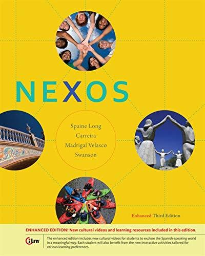 9781285735467: Nexos, Enhanced (World Languages)