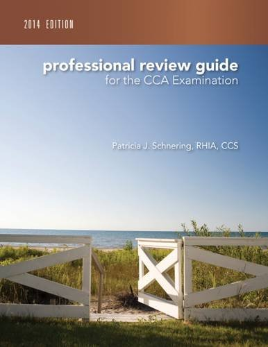 9781285735504: Professional Review Guide for the CCA Examination, 2014 Edition