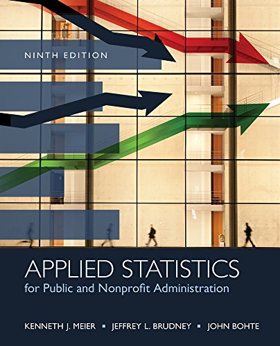 9781285737232: Applied Statistics for Public and Nonprofit Administration