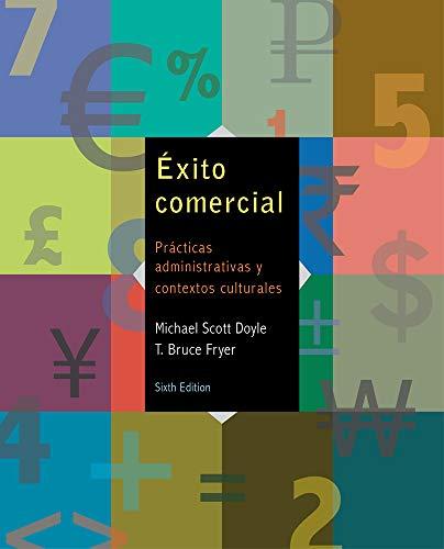 9781285737461: Exito Comercial: Practicas Administrativas y Contextos Culturales: Cuaderno de Correspondencia, Documentos y Ejercicios Comerciales