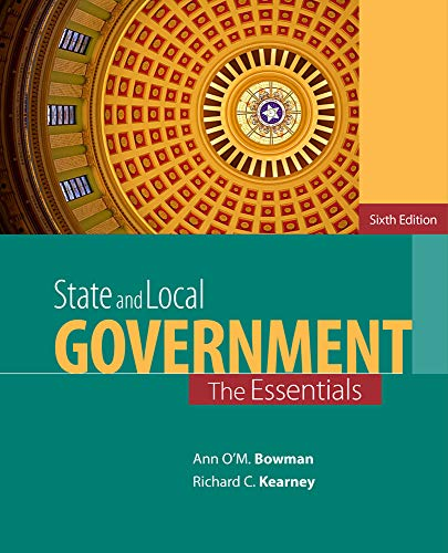 STATE+LOCAL GOVERNMENT:ESSENTIALS: BOWMAN
