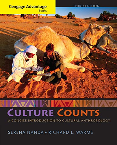 9781285738512: Cengage Advantage Books: Culture Counts: A Concise Introduction to Cultural Anthropology
