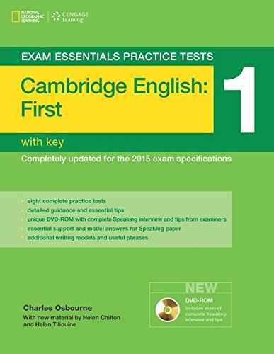Cambridge English First 1 (FCE) EXAM ESSENTIALS PRACTICE TEST with key: Charles Osbourne