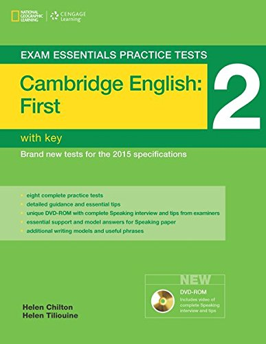 9781285745022: Exam Essentials: Cambridge First Practice Tests 2 w/key + DVD-ROM