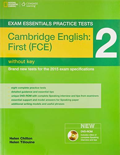 9781285745046: Exam essentials practice tests: fist FCE. Without key. Per le Scuole superiori: Practice Tests 2 - Practice Tests without Key, with DVD-ROM