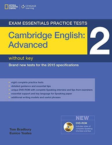 9781285745091: Exam Essentials: Cambridge Advanced Practice Tests 2 W/O Key + DVD-ROM
