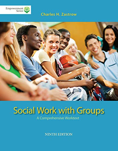 9781285746401: Brooks/Cole Empowerment Series: Social Work with Groups: A Comprehensive Worktext (Book Only)