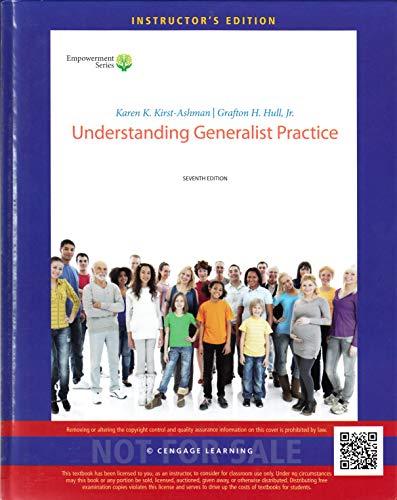 9781285748313: Understanding Generalist Practice 7th.ed. Instructor's Hardcover Ed.