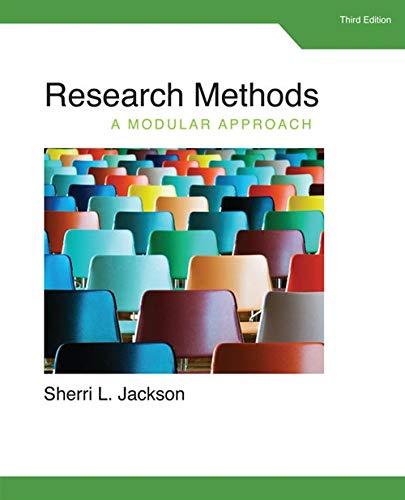 9781285750491: Research Methods: A Modular Approach