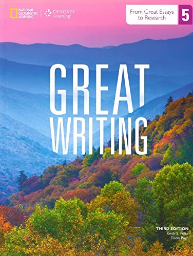 9781285750750: Great Writing 5: Text with Online Access Code