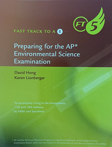 9781285750941: Fast Track To A Five Preparing for the AP* Environmental Science Examination
