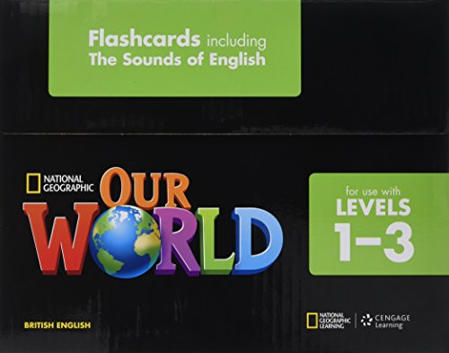 9781285760858: Our World: Flashcards, Including the Sounds of English 1-3