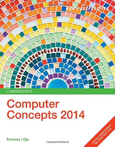 9781285764634: New Perspectives on Computer Concepts 2014, Comprehensive (with Microsoft Office 2013 Try It! and CourseMate Printed Access Card)
