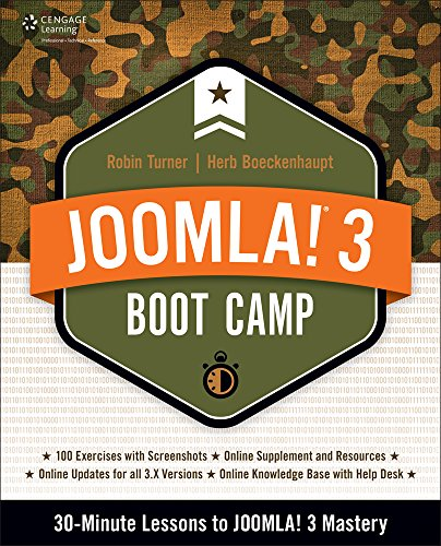 9781285764672: Joomla! 3 Boot Camp: 30-Minute Lessons to Joomla! 3 Mastery