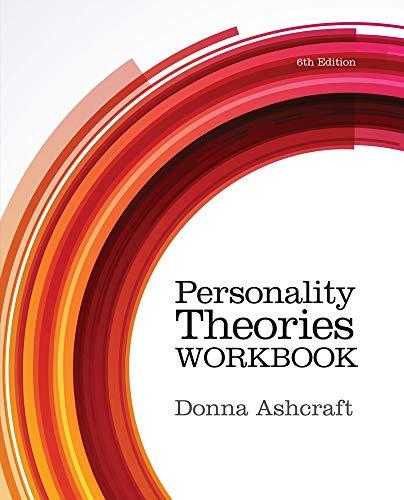 9781285766652: Personality Theories Workbook
