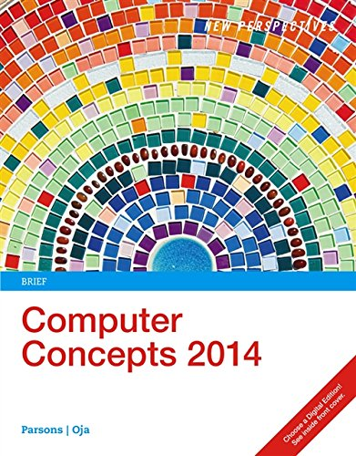 9781285767000: New Perspectives on Computer Concepts 2014, Brief (with Microsoft Office 2013 Try It! and CourseMate Printed Access Card)