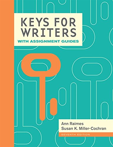 9781285769608: Keys for Writers with Assignment Guides, Spiral bound Version (Keys for Writers Series)