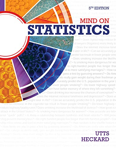 9781285770208: Student Solutions Manual for Utts/Heckard's Mind on Statistics, 5th