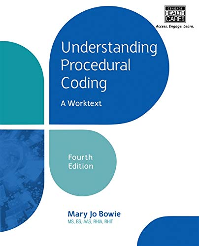9781285774077: Understanding Procedural Coding: A Worktext (with Cengage EncoderPro.com Demo Printed Access Card)