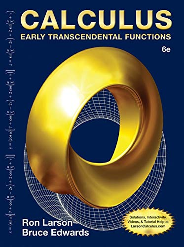 Calculus: Early Trans Functions: Larson
