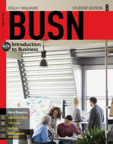 BUSN 8 (New, Engaging Titles from 4LTR: Kelly, Marcella, Williams,