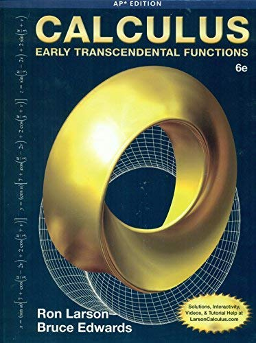 9781285775890: Calculus: Early Transcendental Functions, 6th ed., AP* Edition