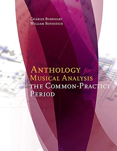 9781285778389: Anthology for Musical Analysis: The Common-Practice Period