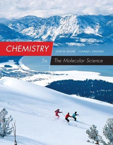 9781285778655: Student Solutions Manual for Moore/Stanitski's Chemistry: The Molecular Science, 5th