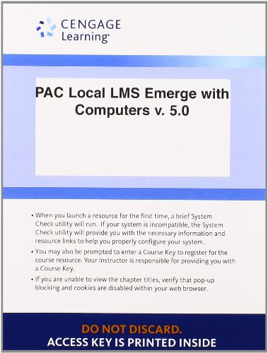9781285779843: Local LMS Emerge with Computers v. 5.0, 1 term (6 months) Printed Access Card for Baldauf/Amer's Emerge with Computers v. 5.0 for Baldauf's Emerge with Computers v. 5.0