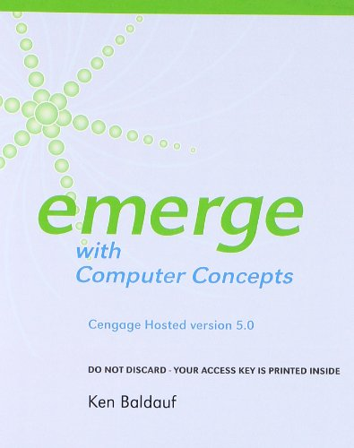 9781285781747: Cengage-Hosted Emerge with Computer Concepts v. 5.0 Printed Access Card (New Perspectives Series)