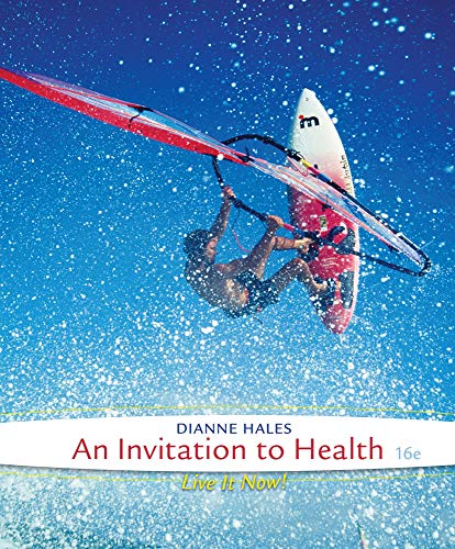 An Invitation to Health (1285783115) by Dianne Hales