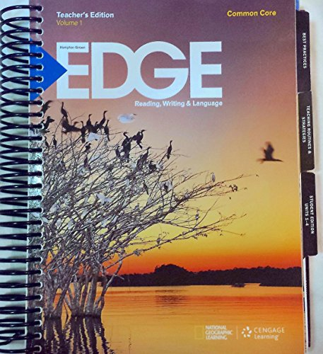 9781285806990: Edge B Teacher