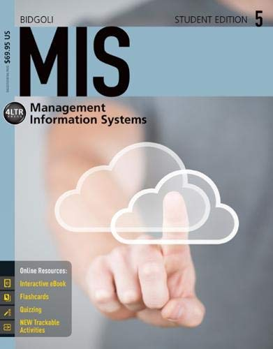 9781285836454: MIS5 (with CourseMate, 1 term (6 months) Printed Access Card) (New, Engaging Titles from 4LTR Press)