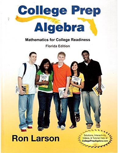 9781285836782: College Prep Algebra: Mathematics for College Readiness, Florida Edition