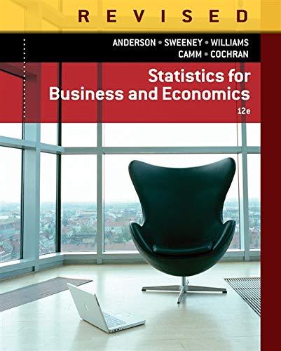 9781285846323: Statistics for Business & Economics, Revised