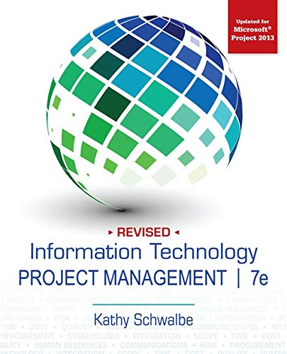 Information Technology Project Management, Revised: Schwalbe, Kathy