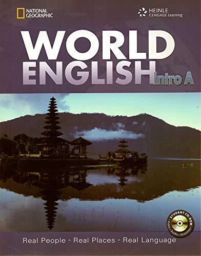 9781285848341: Pkg World English Intro Sb + Student CDROM (World English: Real People, Real Places, Real Language)