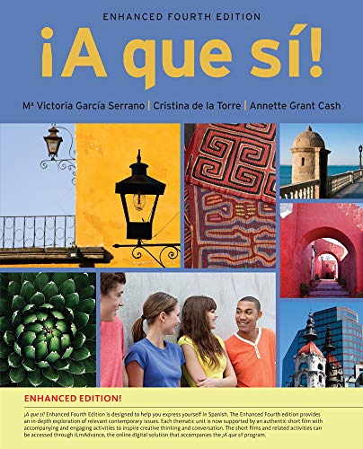9781285849256: A que si!, Enhanced (with iLrn™ Advance Printed Access Card) (World Languages)