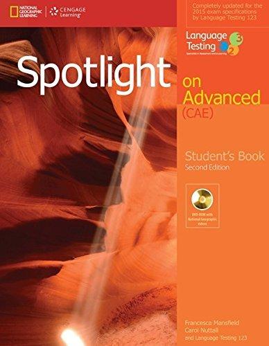 9781285849362: Spotlight on Advanced Student's Book + DVD-ROM