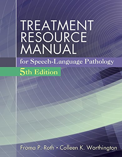 9781285851150: Treatment Resource Manual for Speech Language Pathology (with Student Web Site Printed Access Card)