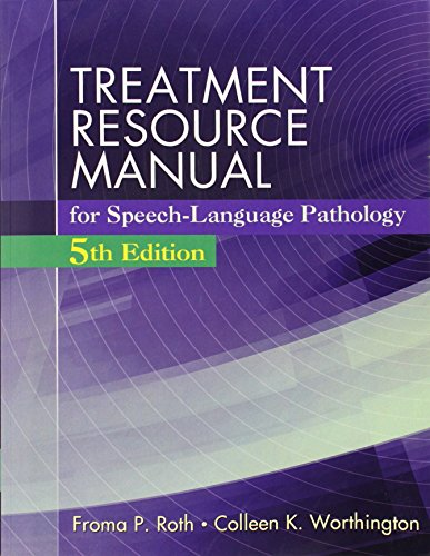 9781285851174: Treatment Resource Manual for Speech Language Pathology (Book Only)