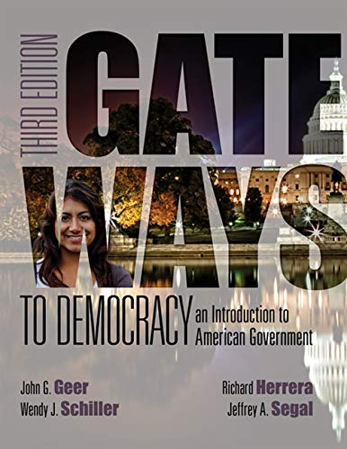 9781285852904: Gateways to Democracy: An Introduction to American Government (with MindTap™ Politcal Science, 1 term (6 months) Printed Access Card) (I Vote for MindTap)