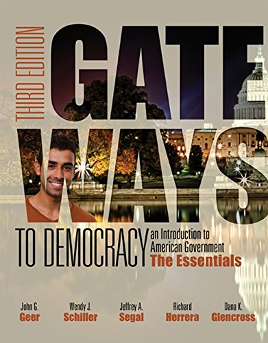 9781285852911: Gateways to Democracy: The Essentials (with MindTap Political Science, 1 term (6 months) Printed Access Card) (I Vote for MindTap)