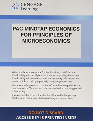 MindTap Economics, 1 term (6 months) Printed Access Card for Mankiw's Principles of ...