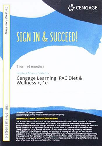 9781285856230: Diet & Wellness +, 1-semester Access